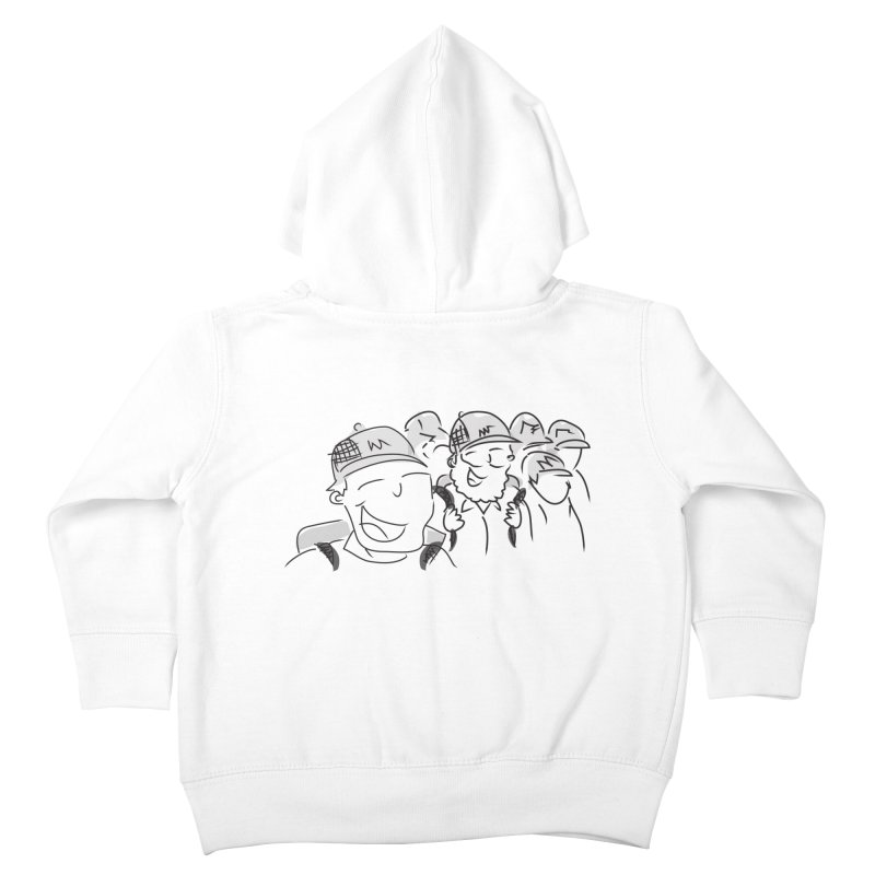 Hikers Kids Toddler Zip-Up Hoody by Turkeylegsray's Artist Shop