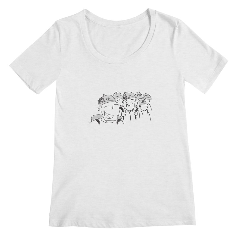 Hikers Women's Regular Scoop Neck by Turkeylegsray's Artist Shop