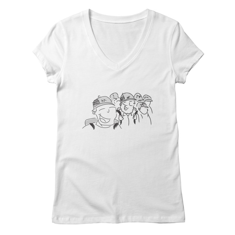 Hikers Women's Regular V-Neck by Turkeylegsray's Artist Shop