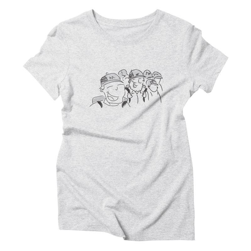Hikers Women's Triblend T-Shirt by Turkeylegsray's Artist Shop