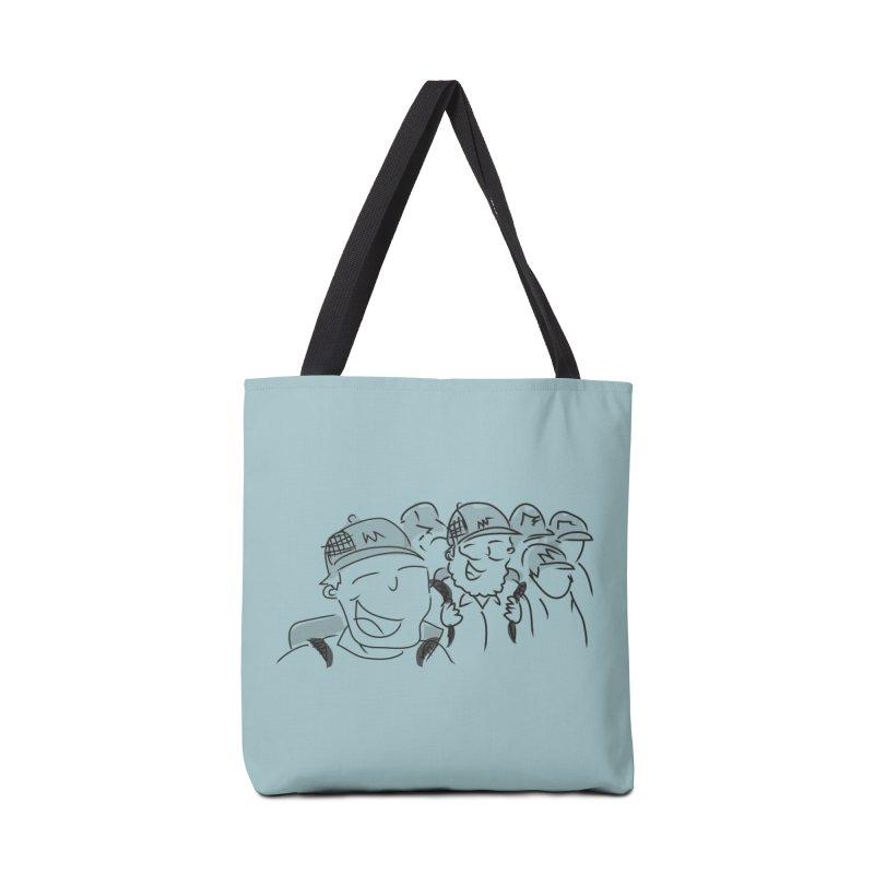 Hikers Accessories Tote Bag Bag by Turkeylegsray's Artist Shop