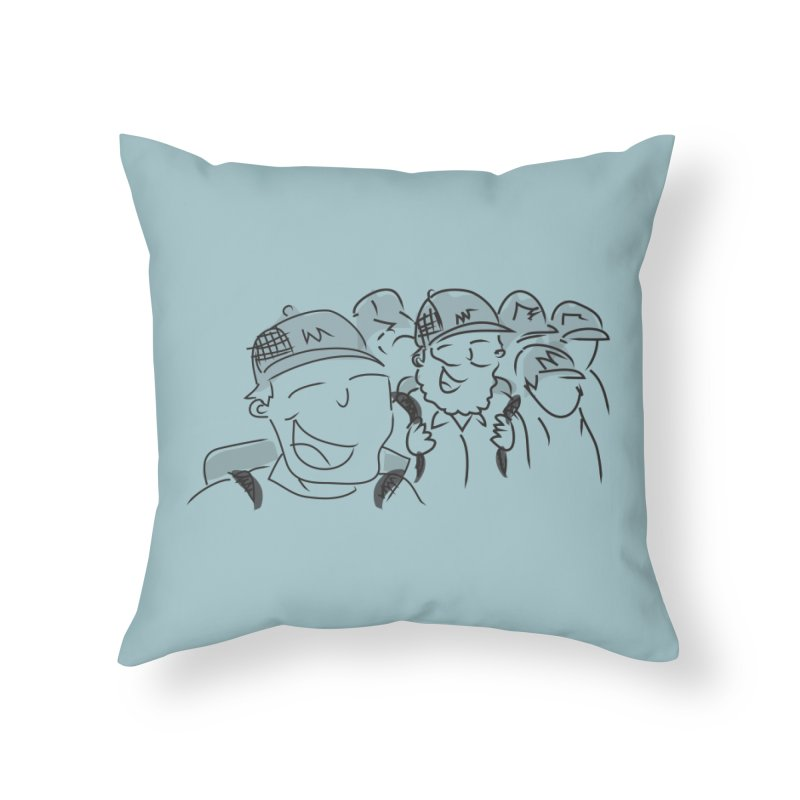 Hikers Home Throw Pillow by Turkeylegsray's Artist Shop