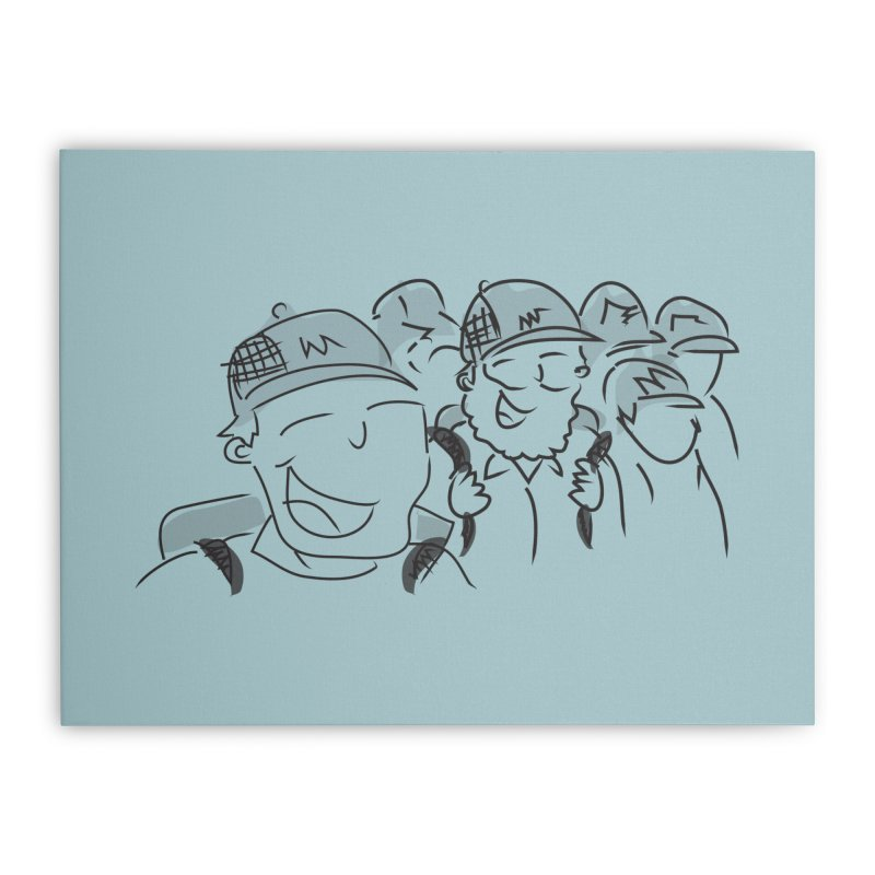 Hikers Home Stretched Canvas by Turkeylegsray's Artist Shop