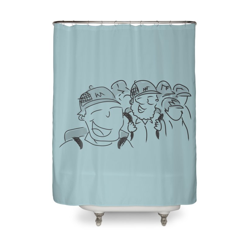 Hikers Home Shower Curtain by Turkeylegsray's Artist Shop