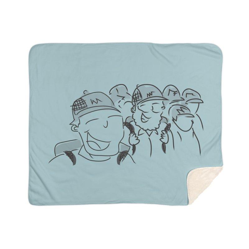 Hikers Home Sherpa Blanket Blanket by Turkeylegsray's Artist Shop