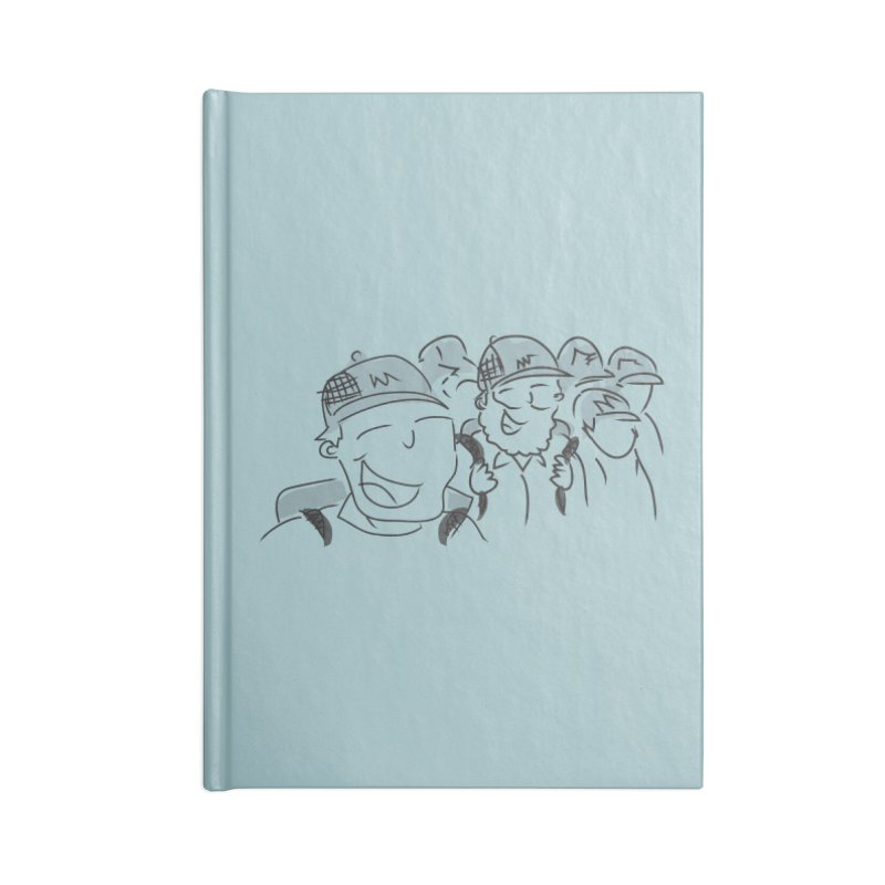 Hikers Accessories Lined Journal Notebook by Turkeylegsray's Artist Shop
