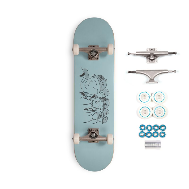 Hikers Accessories Complete - Basic Skateboard by Turkeylegsray's Artist Shop