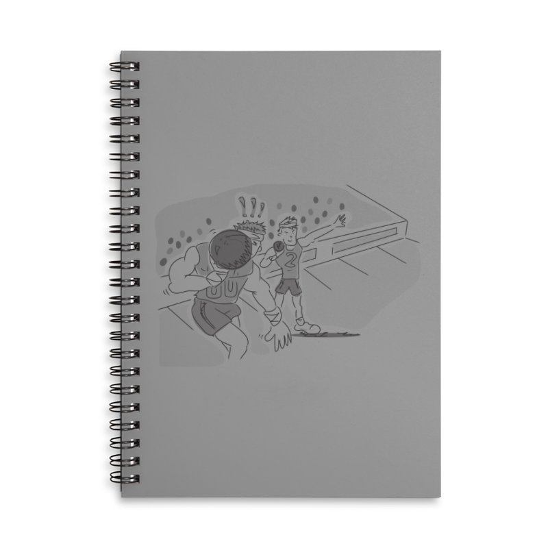 Olympics Accessories Lined Spiral Notebook by Turkeylegsray's Artist Shop