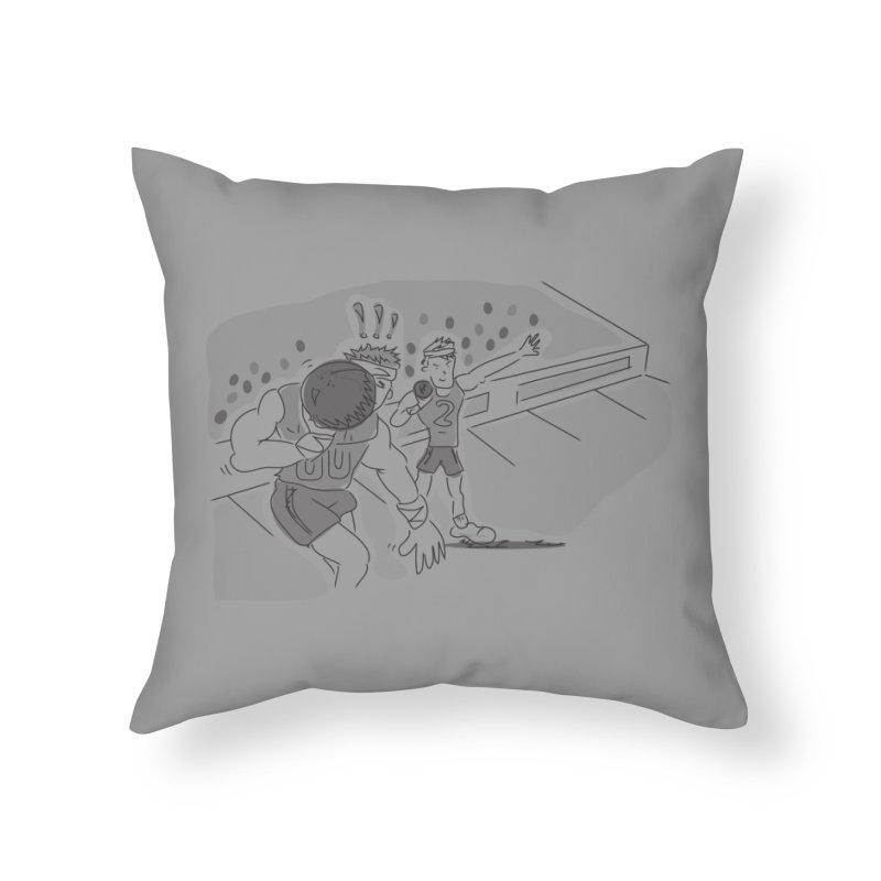 Olympics Home Throw Pillow by Turkeylegsray's Artist Shop