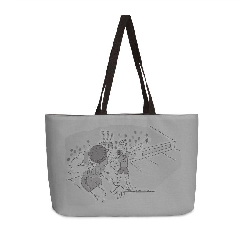 Olympics Accessories Weekender Bag Bag by Turkeylegsray's Artist Shop