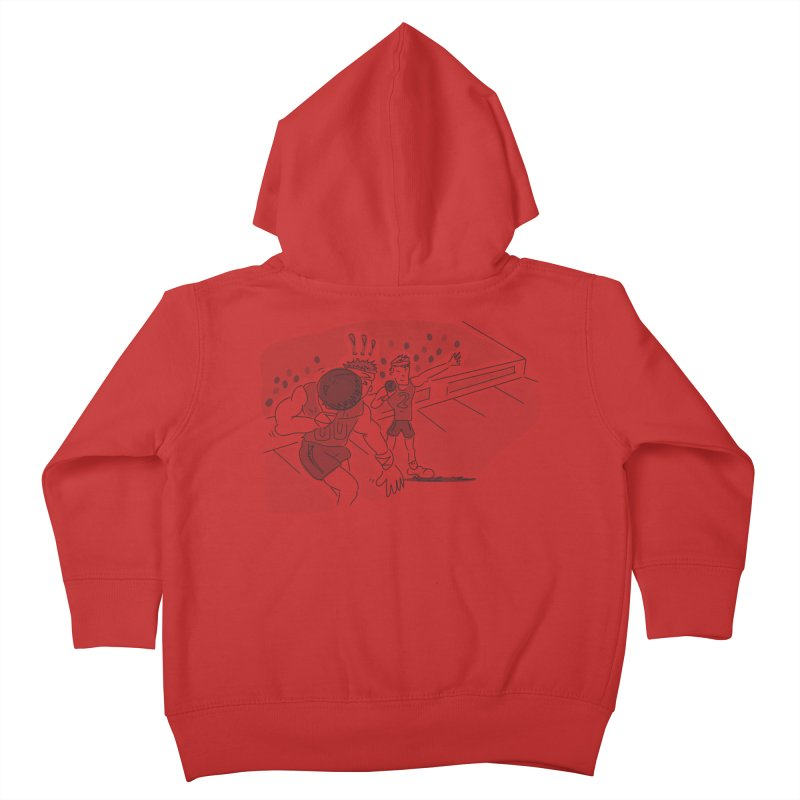 Olympics Kids Toddler Zip-Up Hoody by Turkeylegsray's Artist Shop