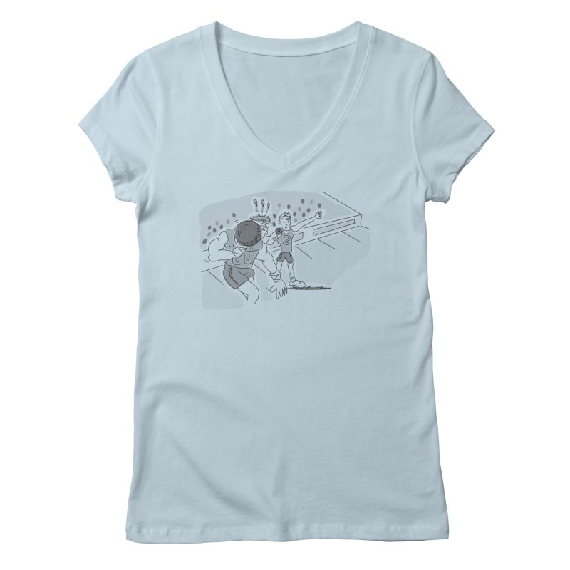 Olympics Women's Regular V-Neck by Turkeylegsray's Artist Shop