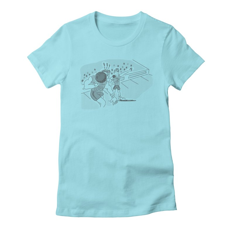 Olympics Women's Fitted T-Shirt by Turkeylegsray's Artist Shop