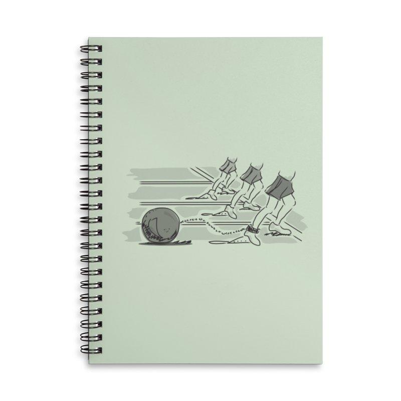 Running Accessories Lined Spiral Notebook by Turkeylegsray's Artist Shop