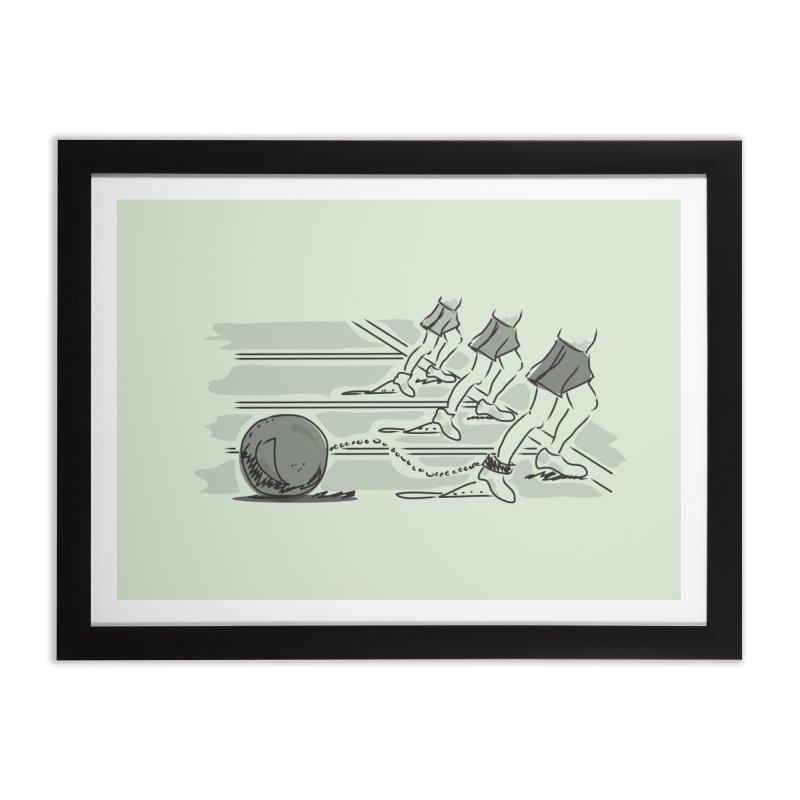 Running Home Framed Fine Art Print by Turkeylegsray's Artist Shop