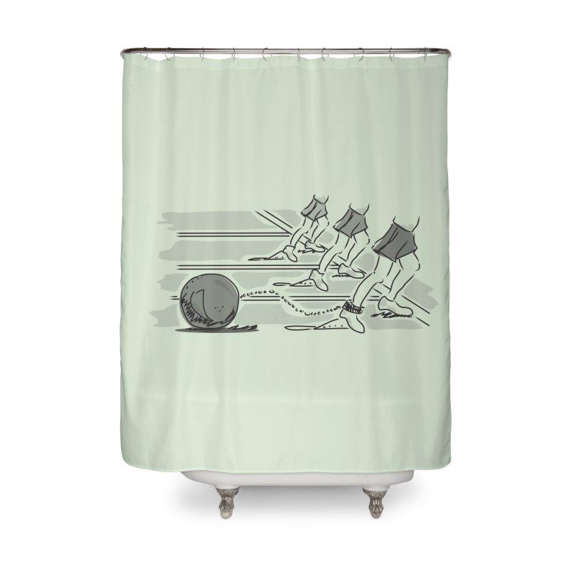 Running Home Shower Curtain by Turkeylegsray's Artist Shop