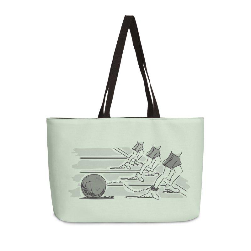 Running Accessories Weekender Bag Bag by Turkeylegsray's Artist Shop
