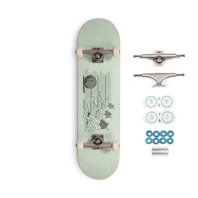 Running Accessories Complete - Basic Skateboard by Turkeylegsray's Artist Shop