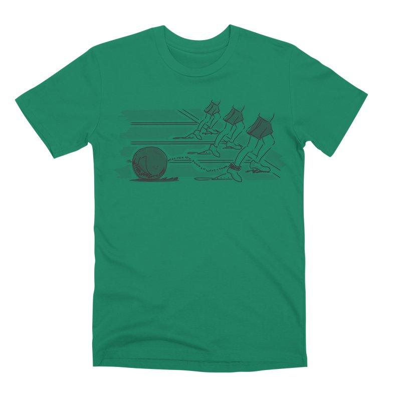 Running Men's Premium T-Shirt by Turkeylegsray's Artist Shop