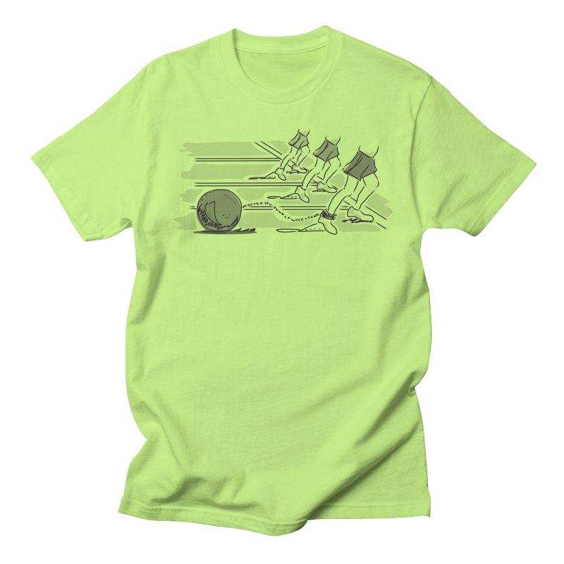 Running Women's Regular Unisex T-Shirt by Turkeylegsray's Artist Shop
