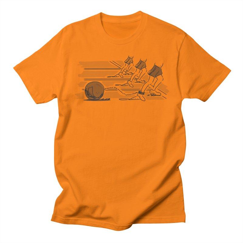 Running Men's Regular T-Shirt by Turkeylegsray's Artist Shop