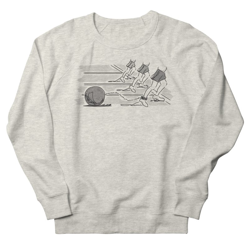 Running Men's French Terry Sweatshirt by Turkeylegsray's Artist Shop
