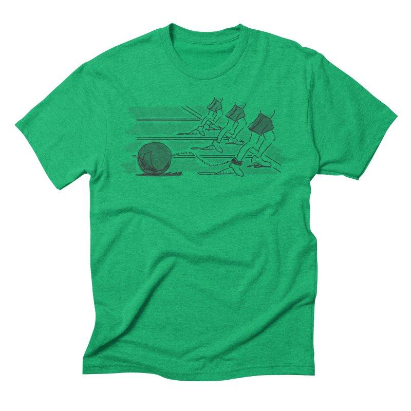 Running Men's Triblend T-Shirt by Turkeylegsray's Artist Shop