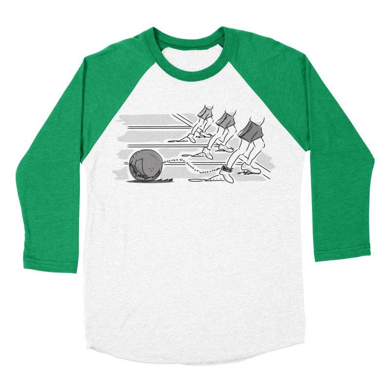 Running Men's Baseball Triblend Longsleeve T-Shirt by Turkeylegsray's Artist Shop