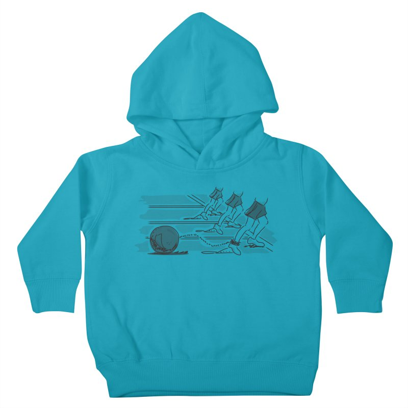 Running Kids Toddler Pullover Hoody by Turkeylegsray's Artist Shop