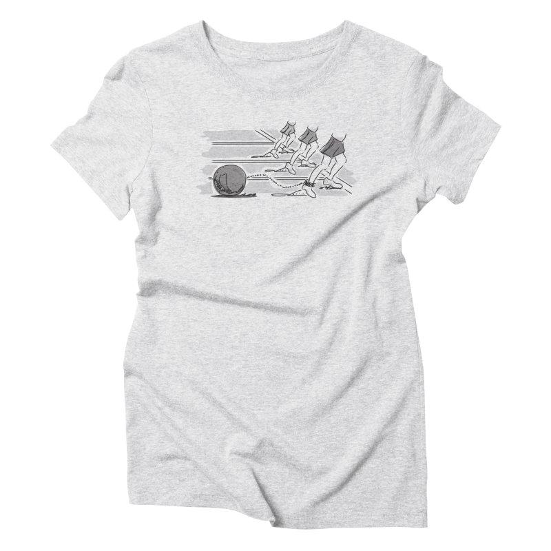 Running Women's Triblend T-Shirt by Turkeylegsray's Artist Shop