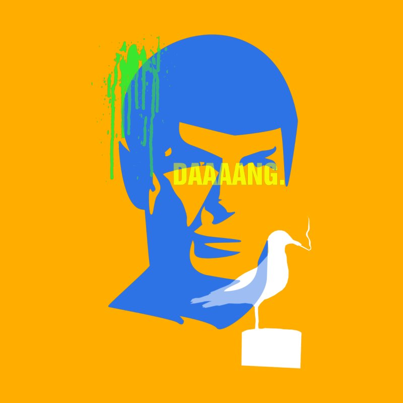 Spock of Seagulls by Turkeylegsray's Artist Shop