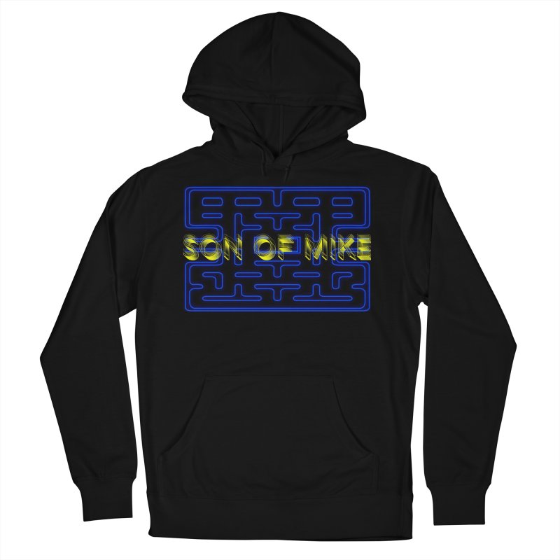 """Son of Mike """"PacMan"""" Men's French Terry Pullover Hoody by Turkeylegsray's Artist Shop"""