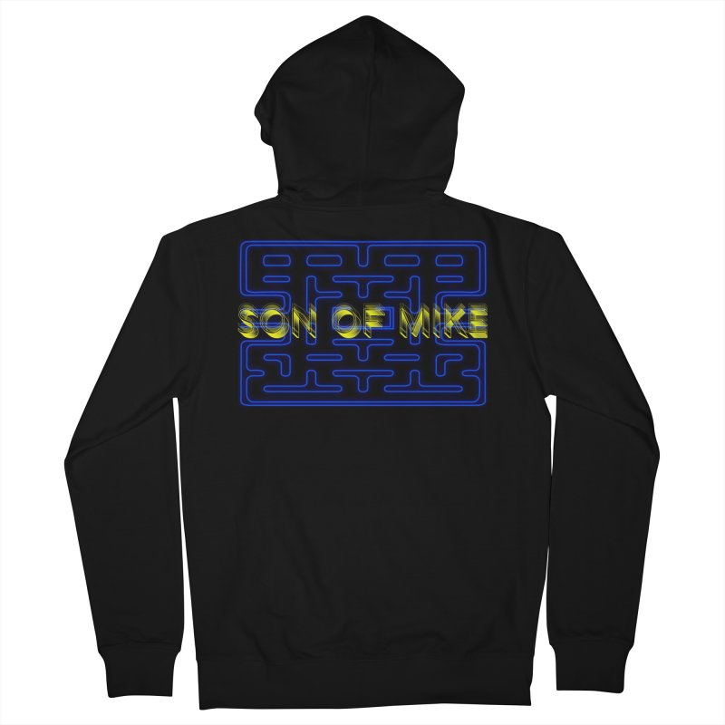 """Son of Mike """"PacMan"""" Men's French Terry Zip-Up Hoody by Turkeylegsray's Artist Shop"""