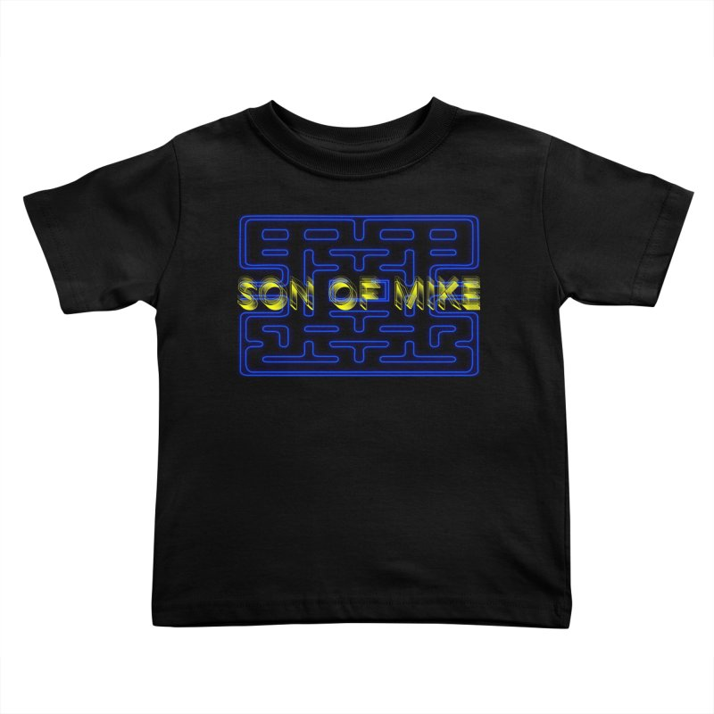 """Son of Mike """"PacMan"""" Kids Toddler T-Shirt by Turkeylegsray's Artist Shop"""
