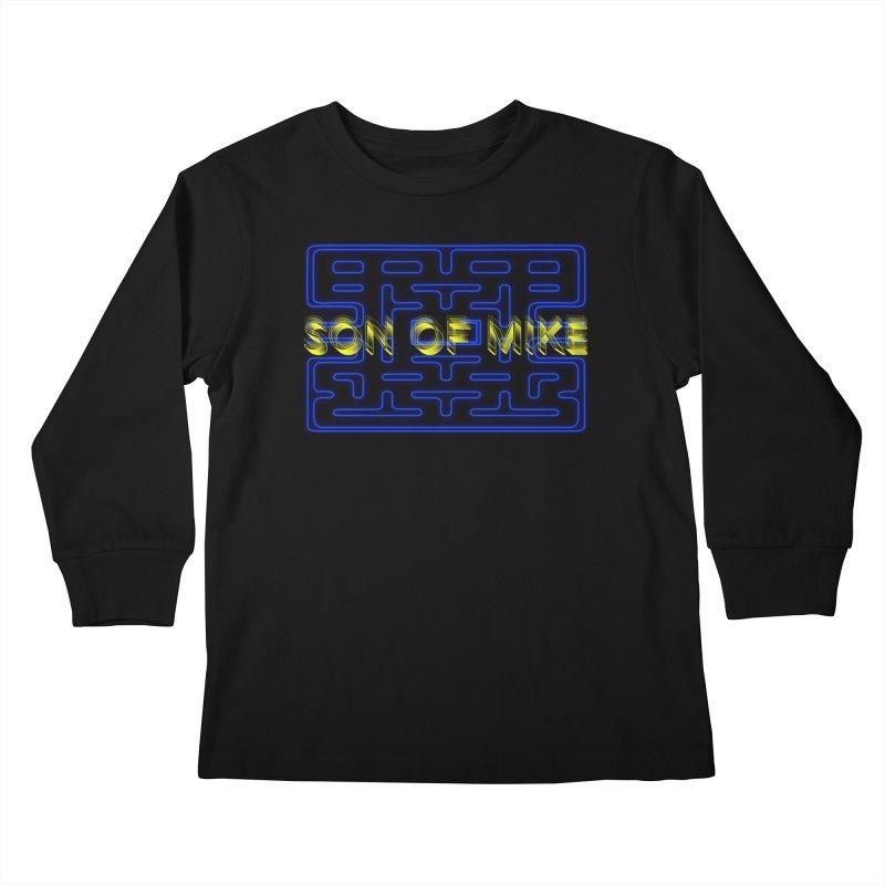 "Son of Mike ""PacMan"" Kids Longsleeve T-Shirt by Turkeylegsray's Artist Shop"