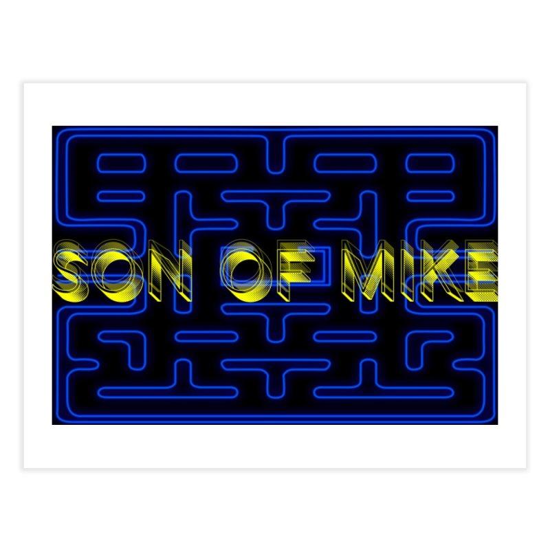 "Son of Mike ""PacMan"" Home Fine Art Print by Turkeylegsray's Artist Shop"