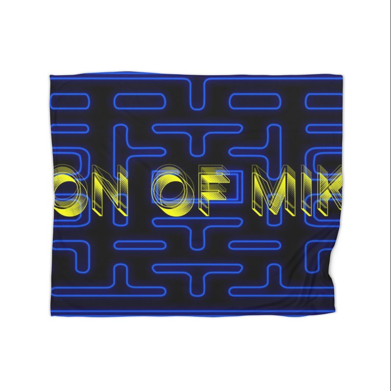 "Son of Mike ""PacMan"" Home Fleece Blanket Blanket by Turkeylegsray's Artist Shop"