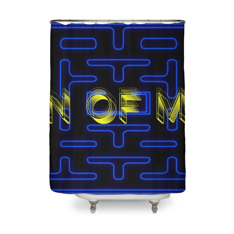 """Son of Mike """"PacMan"""" Home Shower Curtain by Turkeylegsray's Artist Shop"""