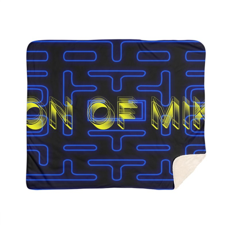 "Son of Mike ""PacMan"" Home Sherpa Blanket Blanket by Turkeylegsray's Artist Shop"