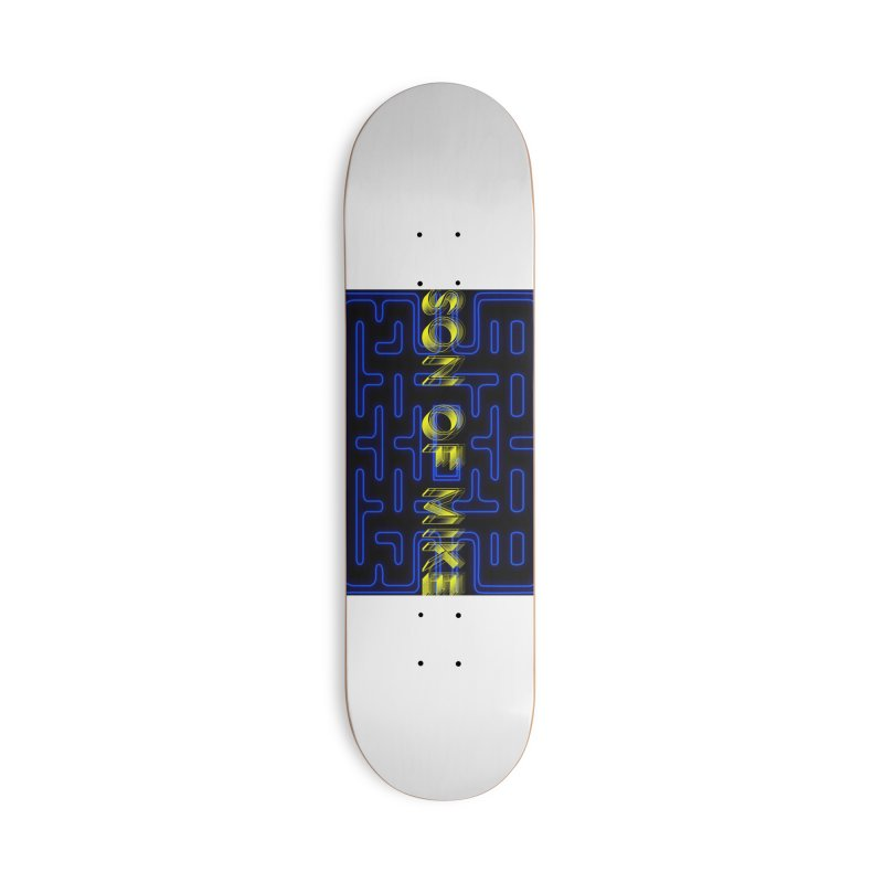 """Son of Mike """"PacMan"""" Accessories Deck Only Skateboard by Turkeylegsray's Artist Shop"""