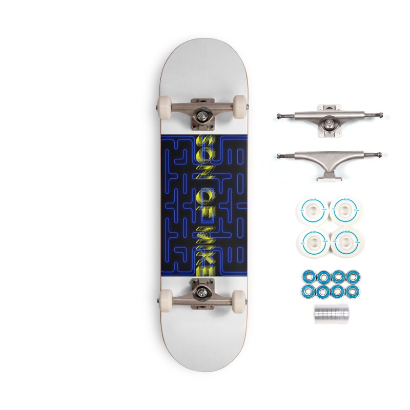 """Son of Mike """"PacMan"""" Accessories Complete - Basic Skateboard by Turkeylegsray's Artist Shop"""