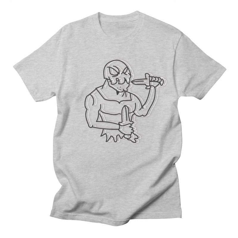 Skull Man Men's Regular T-Shirt by Turkeylegsray's Artist Shop