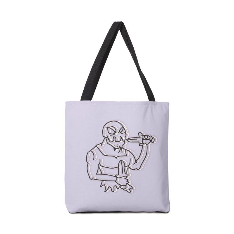 Skull Man Accessories Tote Bag Bag by Turkeylegsray's Artist Shop