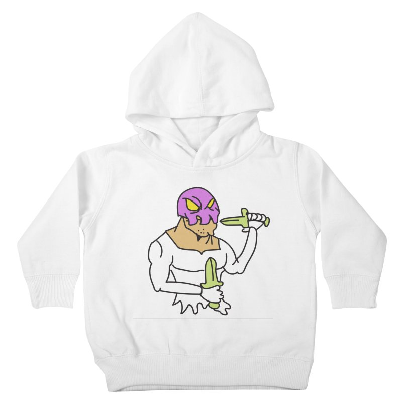Skull Man Color Kids Toddler Pullover Hoody by Turkeylegsray's Artist Shop