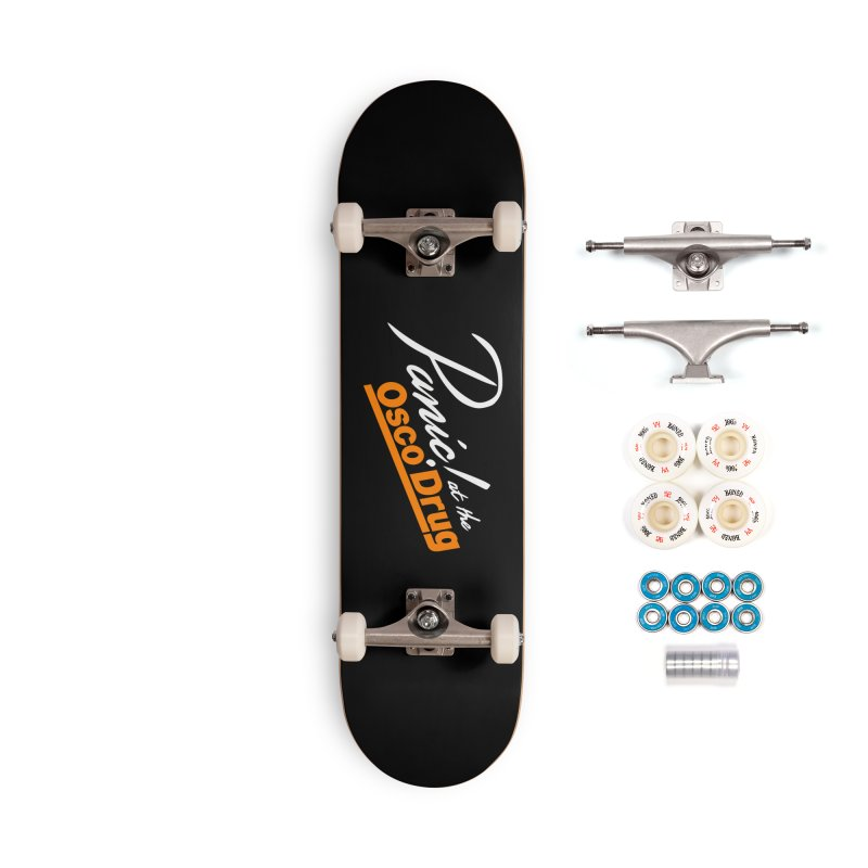 Panic! at the Osco Accessories Complete - Premium Skateboard by Turkeylegsray's Artist Shop