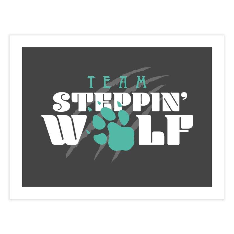 Steppin' Wolf Home Fine Art Print by Turkeylegsray's Artist Shop
