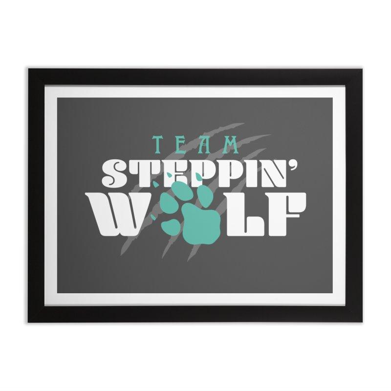 Steppin' Wolf Home Framed Fine Art Print by Turkeylegsray's Artist Shop