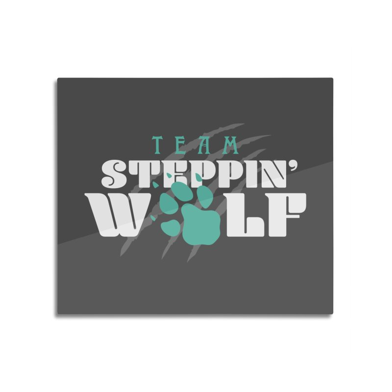 Steppin' Wolf Home Mounted Acrylic Print by Turkeylegsray's Artist Shop