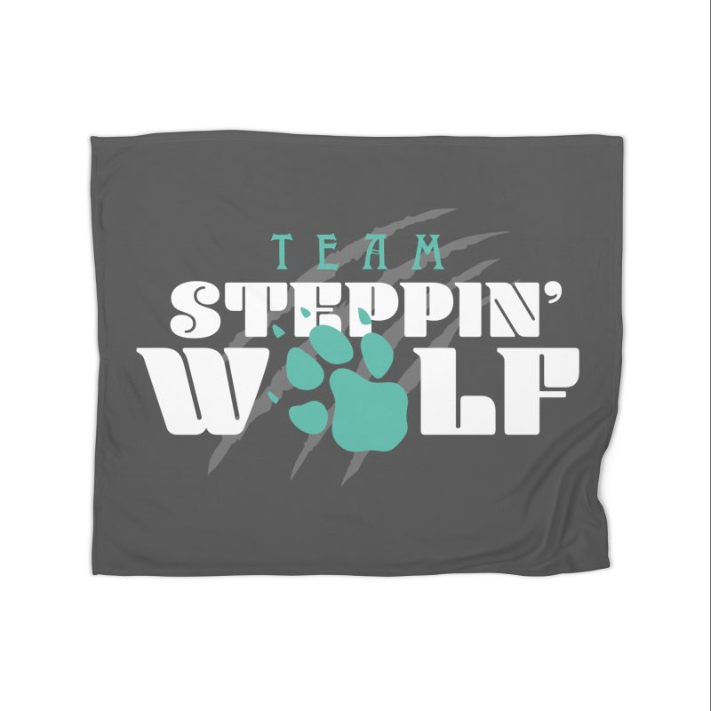 Steppin' Wolf Home Fleece Blanket Blanket by Turkeylegsray's Artist Shop