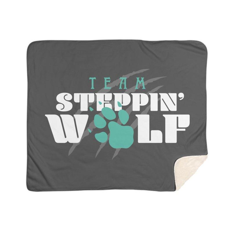 Steppin' Wolf Home Sherpa Blanket Blanket by Turkeylegsray's Artist Shop